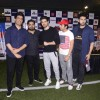 Sooraj Pancholi, Manish Malhotra and Aditya Thackeray at Super Soccer Tournament