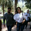 Shilpa Shetty - Raj Kundra Snapped post Lunch