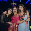 Rekha on the sets of Super Dance 2