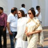 Hema Malini with daughter Esha Arrives