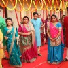 Agarwal Family standing at Naina and Sameer's Engagement from Yeh Un Dinon Ki Baat Hai