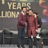 Anil Kapoor and A.R. Rehman spotted at Slumdog Millionaire 10 year celebration