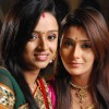 Parul and Sara in tv show Bidaai