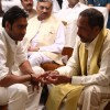 Ajay Devgan and Nana Patekar in the movie Raajneeti