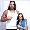 Khali with Nargis