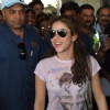 Latino singing sensation Shakira arrives in India