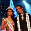 Miss Mahima Chaudhary from Pune and Romeo Gates from London winners of the Gladrags Mega model and Manhunt contest 2007 in mumbai on saturyday night