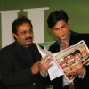 "Shah Rukh Khan at the launch of a health magazine ""Health International"" in Mumbai on April8"