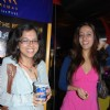 Tanuja Chandra with Riya Sen premiere of the movie Bheja Fry in Mumbai on April 12