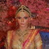"Rakhi Sawant with her fiance Elesh Parujanwala on grand finale of ""Rakhi Ka Swayamvar"""