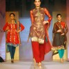 Models walking the ramp at COKUSS Kolkata Fashion File show on Tuesday Evening 4th Aug 09
