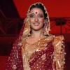 Glam siblings Raima Sen walking the ramp at COKUSS Kolkata Fashion File show on Tuesday Evening 4th Aug 09