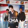 "Bollywood actors Shah Rukh Khan and directed Karan Johar at ""My Name is Khan"" Press Meet, in Mumbai"