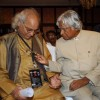 Pt Jasraj with Dr Abdul Kalam at Music Industry forum