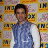 Tusshar Kapoor promote their upcoming movie ''Life Partner'' at Inox, in Mumbai