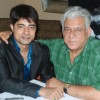 Om Puri at Baabar film promotion at Raheja Classic, in Mumbai