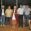 "Tiku Talsania, Rakesh Bedi, Juhi Parmar, Asif Sheikh, Raja Chaudhary and Gulshan at the success bash of ""Yeh Chanda Kanoon Hain"""