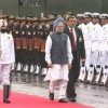 Prime Minister Manmohan Singh at the Red Fort, on the occasion of 63rd Independence Day-