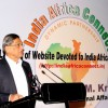 "External Affairs Minister S M Krishna at the launch ""India - Africa Connect"" website, in New Delhi on Monday 17 Aug 2009"
