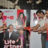 "Prachi Desai, Genelia D''Souza, Fardeen Khan and Tusshar Kapoor to promote the film ""Life Partner"" at Galaxy"