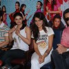 "Prachi Desai, Tusshar Kapoor, Genelia D''Souza and Fardeen Khan to promote the film ""Life Partner"" at Galaxy"