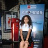 Ayesha Kapur at Sikander pree meet at PVR