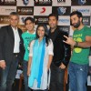 Ranbir Kapoor, Konkona Sen and Karan Johar at Wake Up Sid press meet