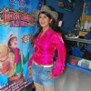 Rambha promotes Dolly of Quick Gun Murugun with Baskin Robbi