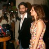 "Bollywood actor Hrithik Roshan wife Suzanne at the red carpet event at openig of Arjun Rampal and A D Singh''s ""LAP'''' restaurant, in New Delhi on Friday Night"