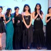 Saba Ali Khan and Soha Ali Khan with the soceity''s leading ladies at the unveiling of '''' Signeture Line For Opulence Jewellery'''', in New Delhi on Saturday