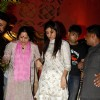 Shilpa Shetty with her mother at Andheri Ka Raja Ganpati