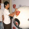 Baichung Bhutia and Sunil Chhetri at the announcement of Coca-Cola India''''s partnership with the All India Football Federation for the