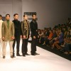 "Models on the ramp during the Narendra Kumar show at the ""India Mens Week"""