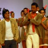 Irfan Khan on the ramp with in an outfit by Abhishek Dutta at Kolkata Fashon Week on sunday