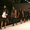 Models presenting creations of Designer Rajesh Pratap Singh at the Van Heusen