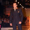"Bollywood Actor Salman Khan at the designer Ashish Soni show at the Van Heusen ""India Mens Week"" in New Delhi on Sunday"