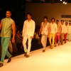 Models on the ramp for Designer Aslam Khan at India Mens Week at New Delhi