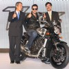 "Bollywood actorJohn Abraham at the launch of ""Yamaha''s Super Bikes"" in New Delhi on Wednesday 16 Sep 2009"