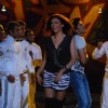 "Sushmita Sen and Hitesh Desmukh on sets of ""Do Knot Disturb"" at Filmistan in Mumbai"