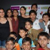 "Rani Mukherjee meets and clicks pics with her Fans at a multiplex in Mumbai which she visited to promote her movie""Dil Bole Hadippa"" in Andheri"