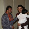 Sanjay Dutt and Zayed Khan at Mata Ki Chowki at Bandra