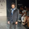 John Abraham on the ramp for Designer Rocky S at Lakme Fashion Week for spring/summer 2010