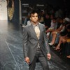 Model on the ramp for Designer Rocky S at Lakme Fashion Week for spring/summer 2010