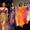Models walk the runway at the Swapnil Shinde show at Lakme Fashion Week Spring/Summer 2010