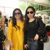 Guest at Araish''s art exhibition, in Mumbai