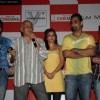 "Emraan Hashmi, Mahesh Bhatt and Soha Ali Khan at the music launch of film ""TUM MILE"" at Cinemax Versova in Mumbai"
