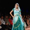 A model walks the runway at Tarun Tahiliani show at the Lakme Fashion Week Spring/Summer 2010 Day 5, in Mumbai