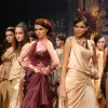 Models walks the runway at Tarun Tahiliani show at the Lakme Fashion Week Spring/Summer 2010 Day 5, in Mumbai