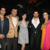 "Dino Morea, Anu Malik, Diya Mirza, Aftab Shivdasani and Farah Khan at ""Acid Factory Team on the Sets of Entertainmet Ke Liye Kuch Bhi Karega"""