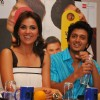 "Lara Dutta & Ritesh Deshmukh at a press conference held in Mumbai to promote their movie ""Do Knot Disturb"""